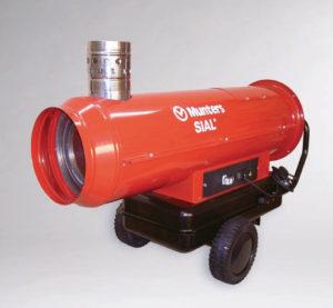 Αερόθερμο καύσης αερίου